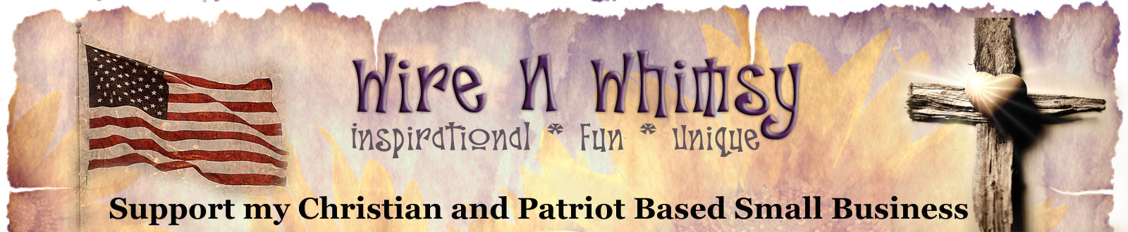 Wire N Whimsy main logo